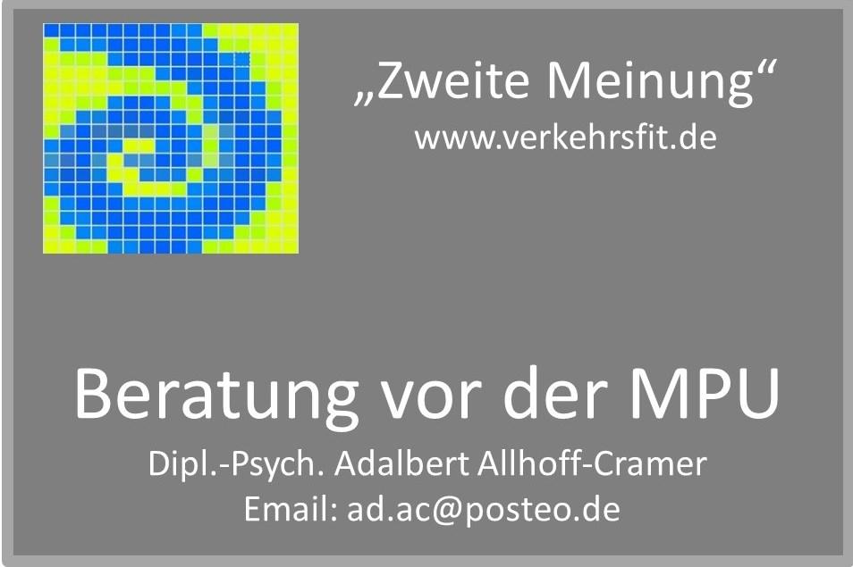 MPU Beratung Allhoff-Cramer